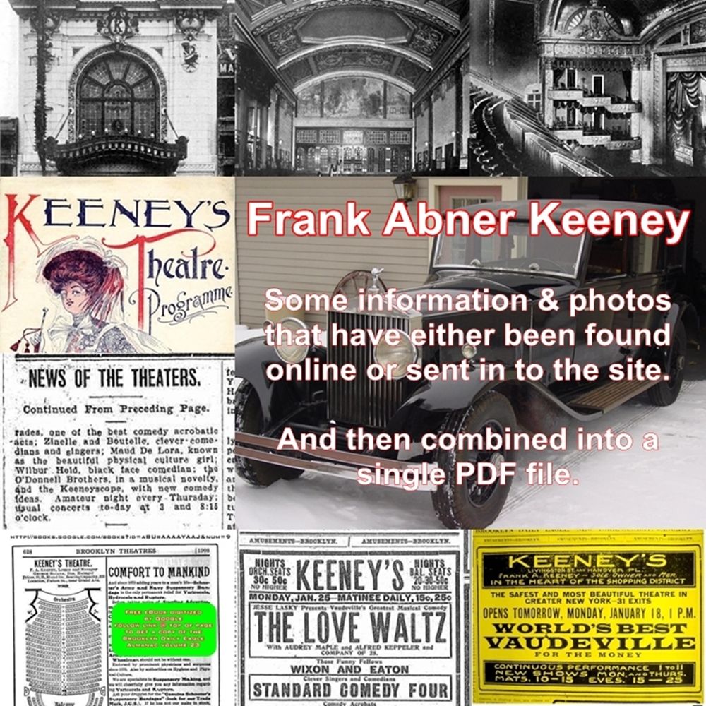 Frank Abner Keeney PDF cover page